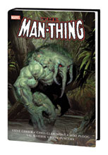 Image: Man-Thing Omnibus HC  (new printing) (main cover - Olivetti) - Marvel Comics