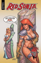 Image: Red Sonja Valentine's Special One-Shot  (cover A - Linsner) - Dynamite