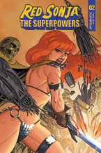 Image: Red Sonja: The Superpowers #2 (incentive 1:15 cover - Kano) - Dynamite