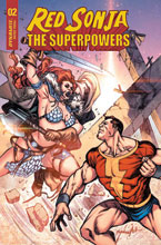 Image: Red Sonja: The Superpowers #2 (incentive 1:15 cover - Davila) - Dynamite