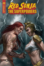 Image: Red Sonja: The Superpowers #2 (variant CGC Graded cover - Parrillo) - Dynamite