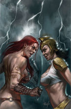 Image: Red Sonja: The Superpowers #2 (variant cover - Parrillo virgin) - Dynamite