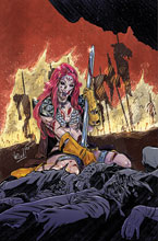 Image: Red Sonja: The Superpowers #2 (variant cover - Federici virgin) - Dynamite
