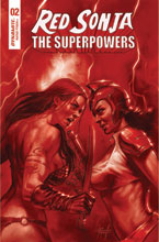 Image: Red Sonja: The Superpowers #2 (variant Crimson Red Art cover - Parrillo) - Dynamite
