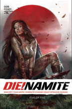Image: Die!namite #5 (cover A - Parrillo) - Dynamite