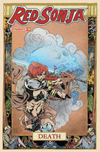 Image: Red Sonja Vol. 05 #24 (incentive 1:07 cover - Miracolo) - Dynamite