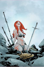 Image: Red Sonja #24 (variant cover - Lee virgin) - Dynamite
