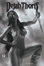 Image: Dejah Thoris [2019] #12 (incentive 1:10 cover - Parrillo B&W) - Dynamite