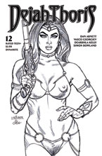 Image: Dejah Thoris [2019] #12 (incentive 1:20 cover - Linsner B&W) - Dynamite