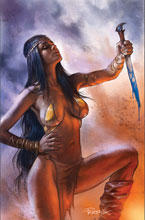 Image: Dejah Thoris [2019] #12 (variant cover - Parrillo virgin) - Dynamite