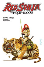 Image: Red Sonja: Price of Blood #3 (variant CGC Graded cover - Suydam) - Dynamite
