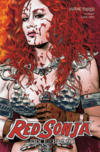 Image: Red Sonja: Price of Blood #3 (variant CGC Graded cover - Golden) - Dynamite