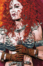Image: Red Sonja: Price of Blood #3 (variant cover - Golden virgin) - Dynamite