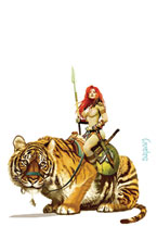 Image: Red Sonja: Price of Blood #3 (variant cover - Suydam virgin) - Dynamite