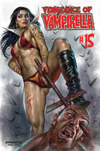 Image: Vengeance of Vampirella #15 (cover A - Parrillo) - Dynamite