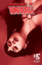 Image: Vengeance of Vampirella Vol. 02 #15 (incentive 1:40 cover - Oliver Tinted) - Dynamite