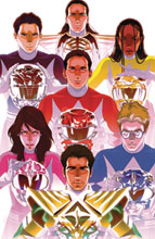 Image: Mighty Morphin #4 (incentive 1:200 cover - Montes) - Boom! Studios