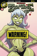 Image: Zombie Tramp #79 (cover D - Young risque) - Action Lab - Danger Zone