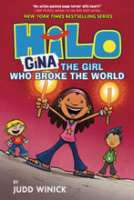 Image: Hilo Vol. 07: Gina Girl Who Broke the World GN  - Random House Books Young Reade