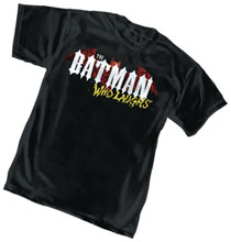 Image: Batman T-Shirt: Batman Who Laughs Logo  (S) - Graphitti Designs