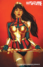 Image: Future State: Wonder Woman #2 (variant card stock cover - Jenny Frison) - DC Comics