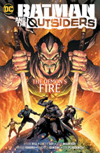 Image: Batman & the Outsiders Vol. 3: The Demon's Fire SC  - DC Comics
