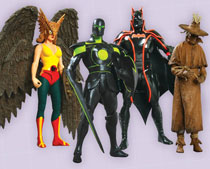 Image: Justice League Series 6 Action Figure: Scarecrow  -