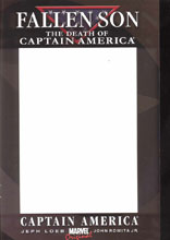 Image: Fallen Son: The Death of Captain America #3 (variant cover - blank)  [2007] - Marvel Comics