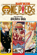 Image: One Piece Omnibus Vol. 7 8 & 9: East Blue SC  - Viz Media LLC