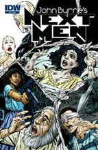 Image: John Byrne's Next Men #5 - IDW Publishing