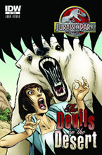 Image: Jurassic Park: The Devils in the Desert #4 (10-copy incentive cover) (v10) - IDW Publishing