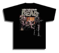 Image: Walking Dead T-Shirt: Rick  (XL) - Image Comics