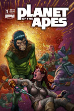 Image: Planet of the Apes #1 (10-copy incentive cover) (v10) - Boom! Studios