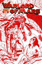 Image: Warlord of Mars #7 (10-copy Sadowski red incentive cover) (v10) - D. E./Dynamite Entertainment