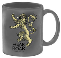 Image: Game of Thrones Coffee Mug: Lannister  - Dark Horse