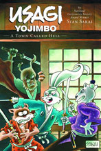 Image: Usagi Yojimbo Vol. 27: A Town Called Hell SC  - Dark Horse Comics