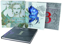 Image: Sky: The Art of Final Fantasy  (slipcase edition) - Dark Horse Comics