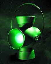 Image: Green Lantern 1:1 Scale Power Battery & Ring Prop Replica  - Dc Comics