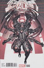 Image: Age of Ultron #4 (Ultron Kim variant cover) - Marvel Comics