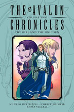Image: Avalon Chronicles: The Girl and the Unicorn HC  - Oni Press Inc.