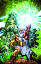 Image: Grimm Fairy Tales Presents Godstorm Vol. 01 SC  - Zenescope Entertainment Inc