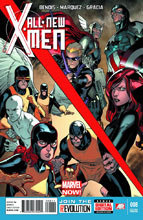 Image: All-New X-Men #8 (2nd pringing variant cover - Stuart Immonen)  [2013] - Marvel Comics