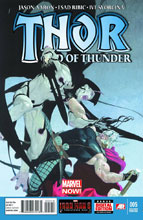Image: Thor: God of Thunder #5 (variant 2nd printing cover - Esad Ribic)  [2013] - Marvel Comics