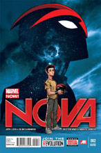 Image: Nova #2 (variant 2nd printing cover - Ed McGuinness) - Marvel Comics