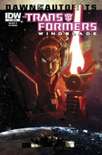 Image: Transformers: Windblade #1 (subscription cover) - IDW Publishing