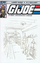 Image: G.I. Joe: A Real American Hero #201 (10-copy incentive cover - Larry Hama Sketch) - IDW Publishing