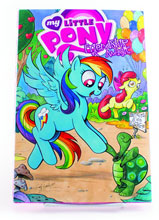 Image: My Little Pony Queen Chrysalis deluxe Rainbow Dash Red Label ed. HC  - IDW Publishing
