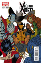 Image: All-New X-Men #25 (variant cover - Grampa) - Marvel Comics