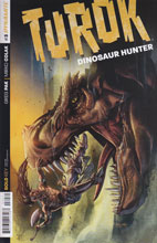 Image: Turok: Dinosaur Hunter #3 (50-copy incentive cover - Stephen Segovia original art) - Dynamite