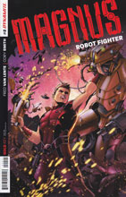 Image: Magnus: Robot Fighter #2 (25-copy incentive cover - Emanuela Lupacchino Art) - Dynamite